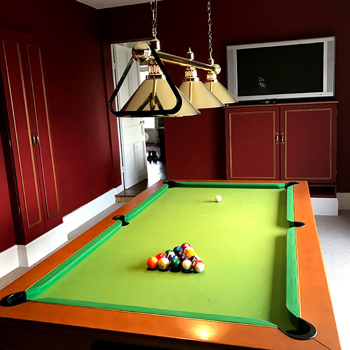 Games Room - Chateau de Dohem - Pool Table, Sat TV, Music, Drinks Cabinet