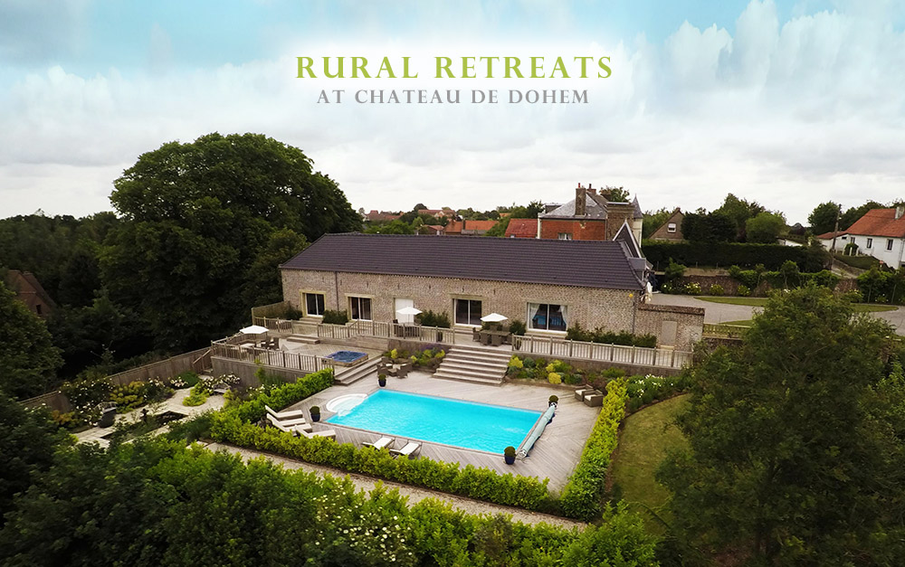 Chateau de Dohem - Luxury Manor House Rural Retreat in Northern France. Hire / Rent Chateau de dohem by emailing wendy@chateaudedohem.com